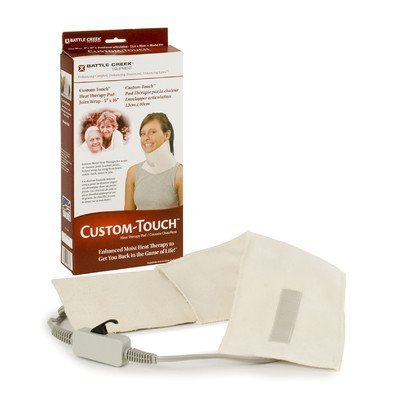 "Custom Touch Heating Pad Size: Large (13"" x 13"") by Battlecreek"