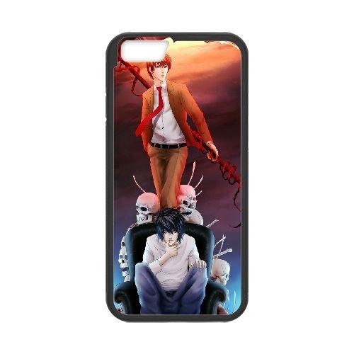 Death Note coque iPhone 6 Plus 5.5 Inch Housse téléphone Noir de couverture de cas coque EBDXJKNBO11912