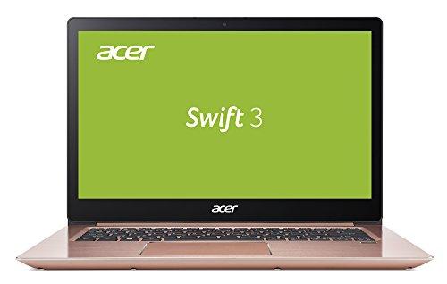 Acer Swift 3 SF314-52-36G5 35,6 cm (14 Zoll Full-HD IPS) Ultrabook (Intel Core i3-7100U, 4GB RAM, 256GB SSD, Intel HD, Win 10) - I3 Notebook Acer