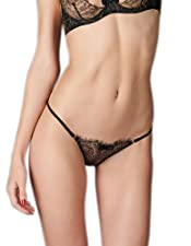 Maison Close - Jardin Imperial - Slip - Schwarz-Gold