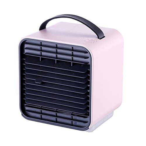 Fearless Come Mini Air Cooler   Mobile Klimaanlage   FanTischventilator   Luftkühler   Aircooler   Klimagerät Klima tragbar   Ventilator   Luftbefeuchter   Luftreiniger   Klimagerät (Rosa)