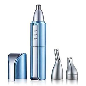 Nasenhaarschneider USB-Nasenhaartrimmer Wiederaufladbare/Frisur Trimmer/Augenbraue Trimmer. Wasserdichter Trimmer für Männer und Frauen aus Kopf Edelstahl