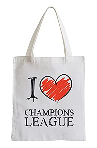 I love Champions League Fun sac de jute