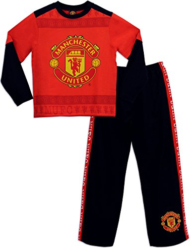 Manchester United F.C. Manchester United Football Club Boys Manchester United Pyjamas Ages 12 to 13 Years
