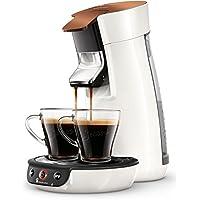Philips Senseo Viva Café HD6569/00 Kaffeepadmaschine (Crema plus, Kaffee-Stärkeeinstellung) kupfer/ weiß