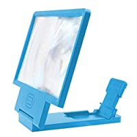 ‏‪LIUXIN Phone Screen Amplifier - Lazy Mobile Phone Holder - Universal Drama Mobile Phone Screen Amplifier, Multi-color Optiona (Color : Blue)‬‏