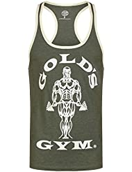 Gameworld Muscle Joe Contrast Camiseta Hombre, Army, L