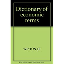 Dictionary of economic terms