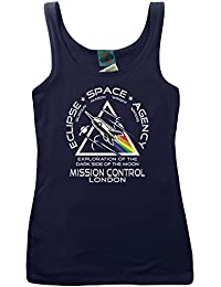 Bathroom Wall Pink Floyd Inspired Eclipse Space, Women's Vest
