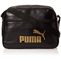 Puma Wmn Core Up Reporter Black Bag For Women, Size One Size