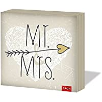 Groh Mr. & Mrs., 20 Servietten
