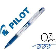 Pilot - Rotulador roller v-ball grip azul 05 mm (12 unidades)