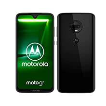 motorola moto g7 6.24-Inch Android 9.0 Pie UK Sim-Free Smartphone with 4GB RAM and 64GB Storage (Dual Sim) – Black (Exclusive to Amazon)