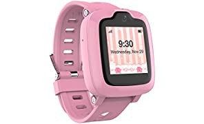 Oaxis Kids Smart Watch Phones GPS Tracker for Girls Boys SOS Remote Alarm Care Call Text Parents Control Watches with Classroom Mode Fitness Trackers Children Teens IP67 waterproof by myFirst Fone