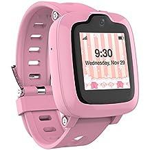 Smart Watch Phone per bambini - Ultimate 3G Smartwatch con GPS Tracker, Touchscreen, Fotocamera, Touch SOS Remote Alarm, Fitness Tracker, Orologi impermeabili per telefoni cellulari per ragazze di MyFirst Fone-Pink