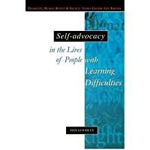 [ Self-Advocacy in the Lives of People with Learning Difficulties[ SELF-ADVOCACY IN THE LIVES OF PEOPLE WITH LEARNING DIFFICULTIES ] By Goodley, Dan ( Author )Dec-01-2000 Paperback