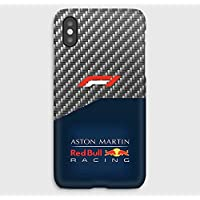 F1 carbon Red Bull iPhone cas XS, XS Max, XR, X, 8, 8+, 7, 7+, 6S, 6, 6S+, 6+, 5C, 5, 5S, 5SE, 4S, 4,
