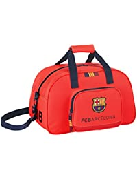Barça - Bolsa de deporte, color naranja (Safta 711462273)