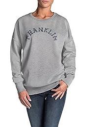 Franklin & Marshall Sweatshirt FLWVA582AMW16 For Woman, With Print