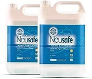 Neusafe 70% Isopropyl Alcohol Based Liquid Hand Rub Sanitizer With Aloevera, Glycerine & Lemon Fragrance R
