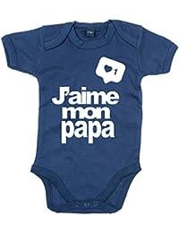 Edward Sinclair J aime Mon Papa  bébé Body 0805bf6c3a6