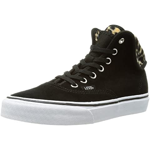 Vans U AUTHENTIC HI 2 (FURRY LEOPARD) Sneaker, Unisex Adulto