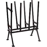 Metall Sägebock Sägehilfe Sägegestell Sägeständer Brennholzgestell Ständer für Holz Sägehalterung Stützbock