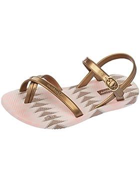 Sandalen Kind Ipanema Fashion Sand IV Beige und Gold