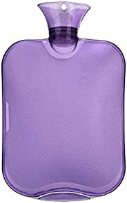 Force24 Transparent Hot Water Bag for Pain Relief, Colour May Vary
