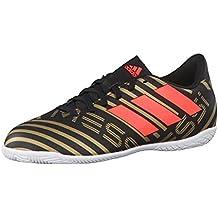 Adidas Predator 18.3 FG Suelo duro Adulto bota de fútbol - Botas de fútbol (Suelo duro, Adulto, Masculino, Suela con tacos, Azul, Blanco, Monótono)