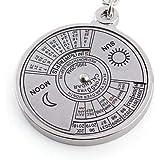 50 years calendar keychain 2010 -2060