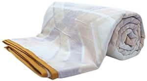 Portico New York Summer Snuggles Cotton Single Dohar - Brown