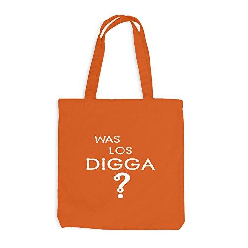 Jutebeutel - Era Los Digga? - Divertente Festival In Stile Arancione