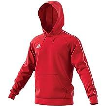 rivenditore di vendita a3128 6aa46 felpa adidas rossa