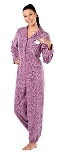 Octave - Grenouillère - Femme Purple Leopard / Big Cat