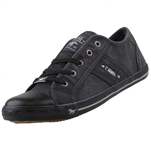 mustang-damen-canvas-sneaker-schwarz-dunkelgrau-schuhgreeur-40