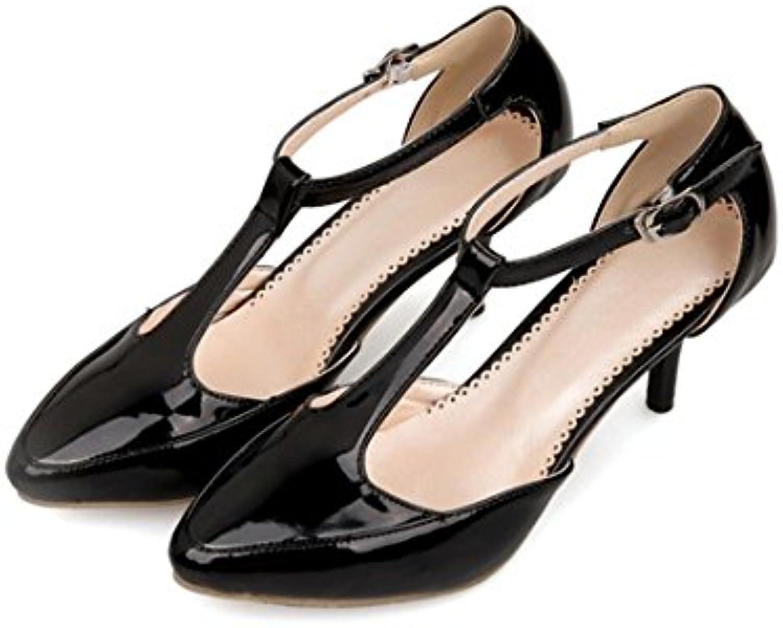 7ef7f9161 AIKAKA Chaussures pour Femmes Printemps Été avec des s ...