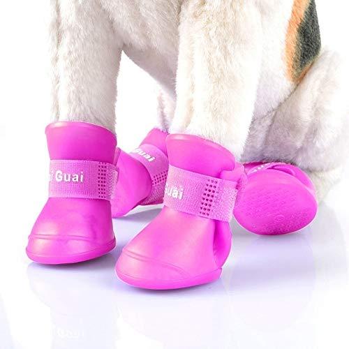 Happy-L Suministros Mascotas, Botas Goma Color Caramelo