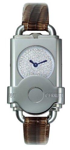 Cerruti - 4220366 - Montre Femme - Quartz - Analogique - Bracelet Cuir Marron