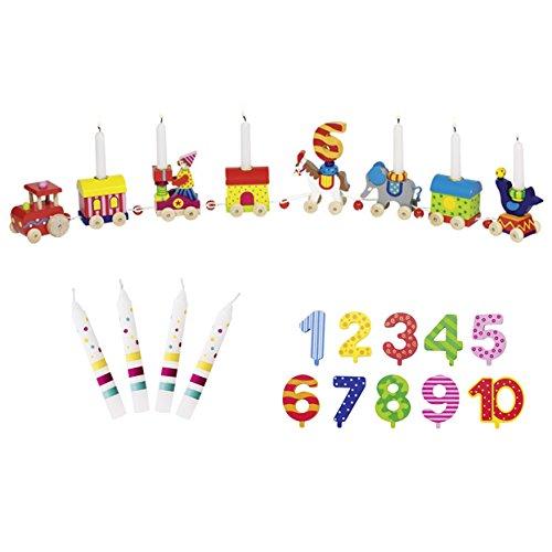Zirkus Zikuswelt Zahlen 1-10 10 Kerzen Susibelle - Die LuLuGoS ()