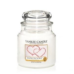 Yankee Candle Duftkerze im Glas, Snow in Love