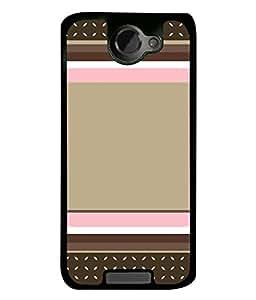 Fuson Designer Back Case Cover for HTC One X :: HTC One X+ :: HTC One X Plus :: HTC One XT (designer pattern theme rangoli art )