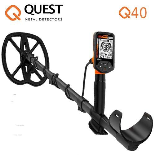 Deteknics 'Metal Detector Quest Q40Raptor placa de 11