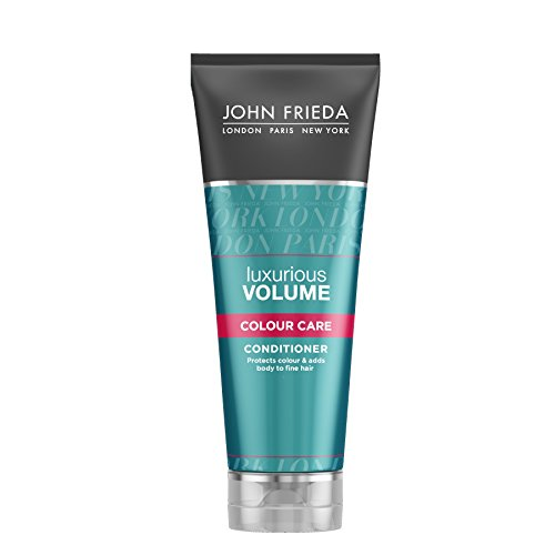 John Frieda Luxurious Volume Touchably Full Conditioner for Colour Treated Hair, 250 ml