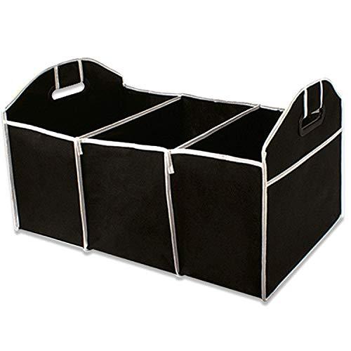 DW&H Non-Gewebte Aufbewahrungstasche Box-Auto Built-In Box-Auto-Faltschachtel Trunk Box Speicher Tasche Werkzeugkasten,Black (Kleidungsstück Boxen)