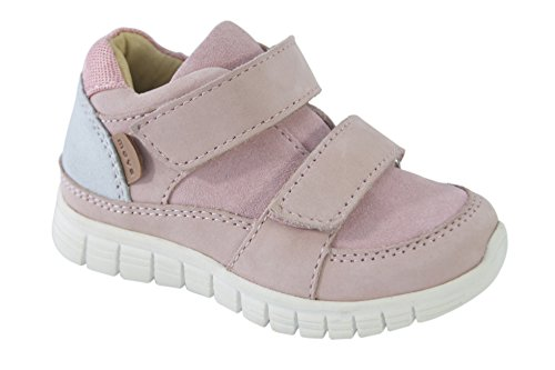 move Baby Mädchen Sneaker Sportlich Lauflernschuhe, Pink (Alt Rosa), 25 EU (Rosa Sneakers Sportliche)