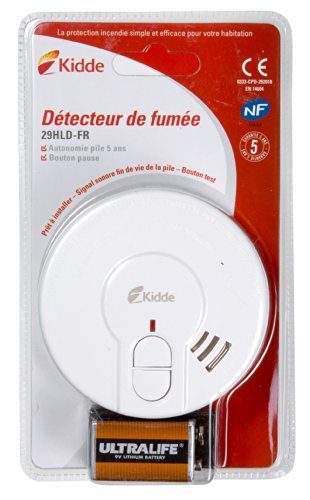 Kidde KID29HLD-FR Détecteur de Fumée Blanc