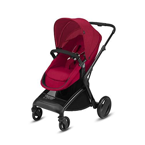 CBX Bimisi Flex 518002217 Cochecito 2 en 1 con Asiento / Capazo Reversible, Rojo Crunchy Red