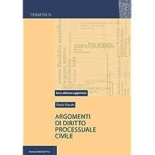 Argomenti di diritto processuale civile (Terminus)