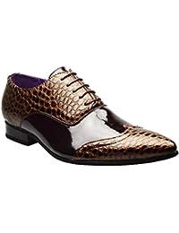 B5747 scarpa inglese uomo PEREGO SHOES scarpe grigio/blu shoe man [41.5]